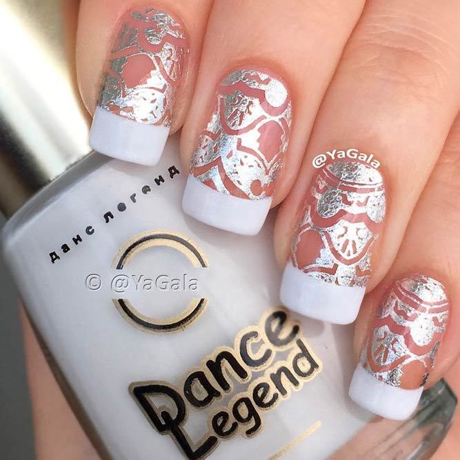 French Tip Nail Designs For Long Nails Picture 3