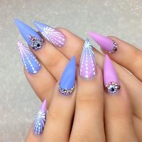 21 Trendy And Cute Stiletto Nails Designs ...