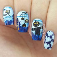 21 Halloween Nail Art Ideas To Scare Them All ...