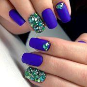 matte nails design meet