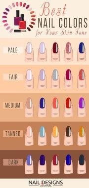 nail colors complexion