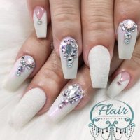 27 Coffin Nail Designs Youll Want to Wear Right Now