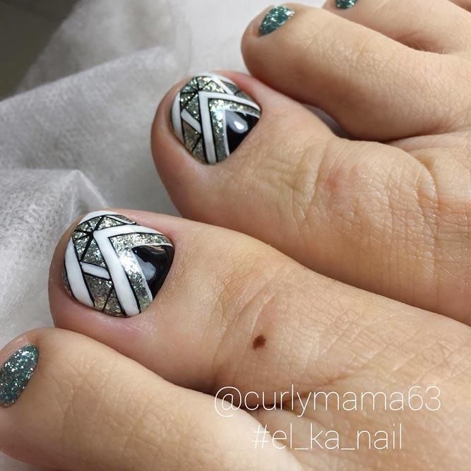 30 Fun Toe Nail Designs To Go Crazy Over