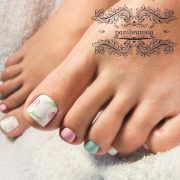 fun toe nail design crazy