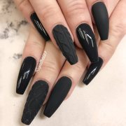 fancy ways rock matte black