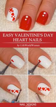 easy tutorials of hot valentines