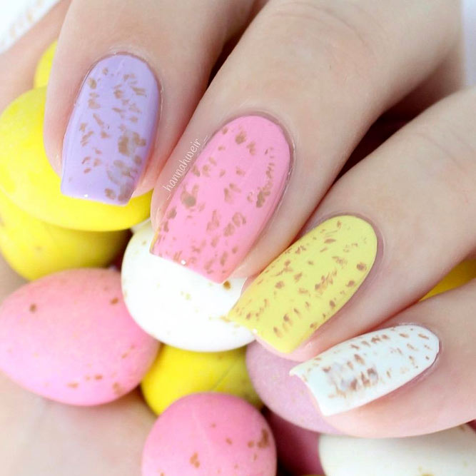 Last Minute Easter Nails