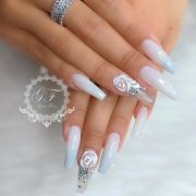 ideas rhinestones nail perfection