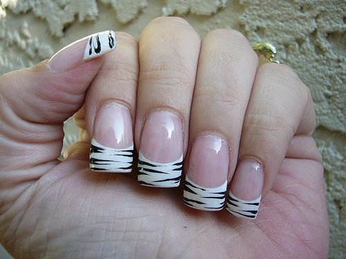Fall Gel Nail Designs 2016 White Acrylic Nails With Tips