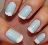 White Nail Tips | Nail Designs Mag