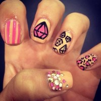 Diamond Nail Designs & Ideas