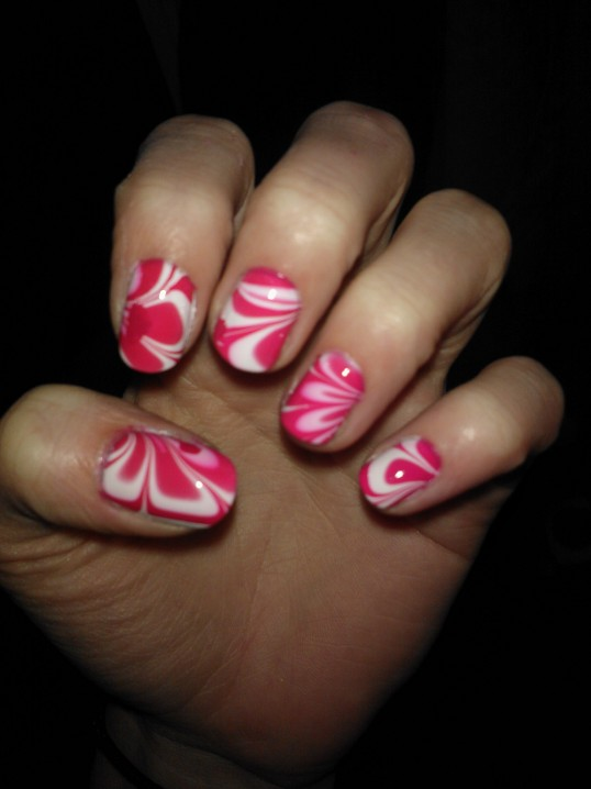Water Marble 2nd try (1/2)