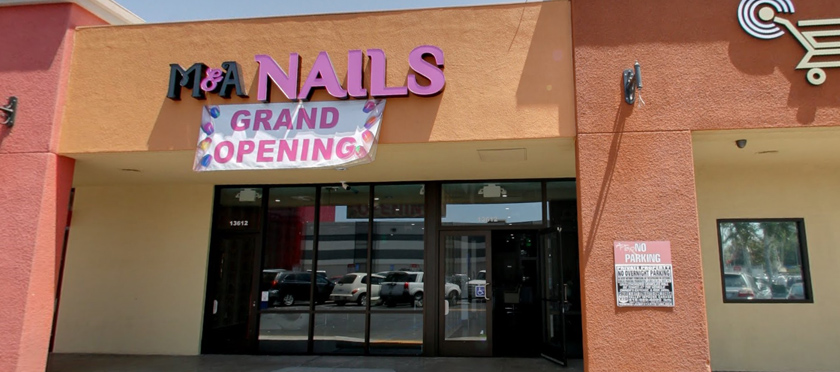 M A Nails Are Open Late