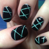 Nail Art Using Striping Tape | Nail it to Yourself