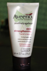 I picked up this Aveeno lotion becuase it was on clearance in my local Target. While the smell is not the best, this really does moisturize my hands and cuticles.