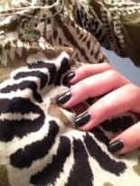 Yayyy for nail polish matching your outfits!