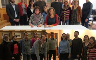 Signature du Pacte pour la transition