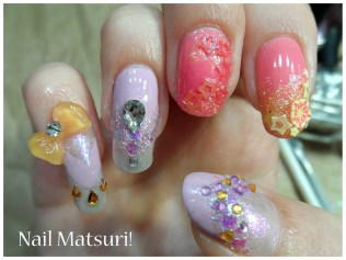 My nails for japan