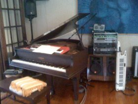 The Setup I i used at our 1st House Concert