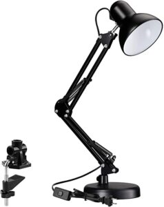 TORCHSTAR Metal Swing Desk Lamp