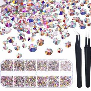 best nail art rhinestones