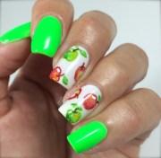 cute & colorful nail art design