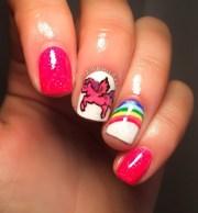 little pony nails nail art