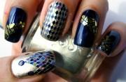 essie - taste of luxury nail art