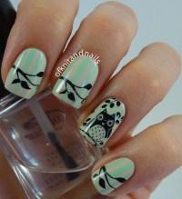 Cute little owl nail art by Julie - Nailpolis: Museum of ...