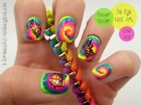 Tie Dye Nail Art nail art by B. - Nailpolis: Museum of ...