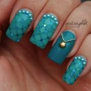 mermaid nails nail art xnailsbymiri
