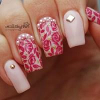 Princess Nails nail art by xNailsByMiri - Nailpolis ...