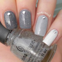 Photos - Bild - Galeria: NAIL ART GREY