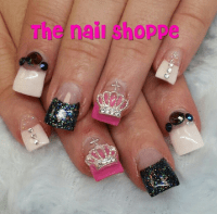 Princess Nails Pinner