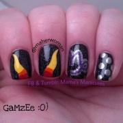homestuck nails nail art mama's