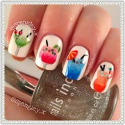 cocktails nail art nicole louise