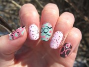 hipster nail art nails & threads