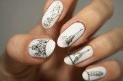architecture sketch nails freehand