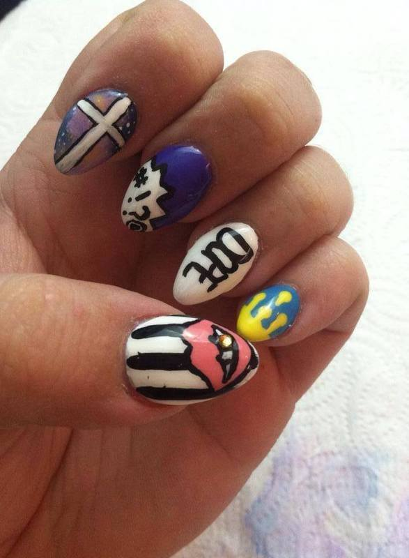 Dope Nails Nail Art By Beth Marie Nailpolis Museum Of
