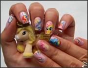 nail art little pony