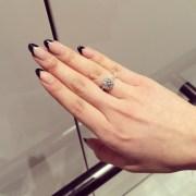 black french tip nails nail art
