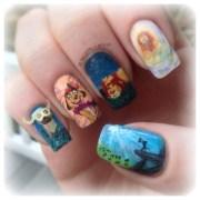 lion king nail art amanda