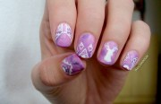 hipster nails nail art margee
