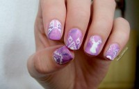 Hipster Nails nail art by Margee C. - Nailpolis: Museum of ...