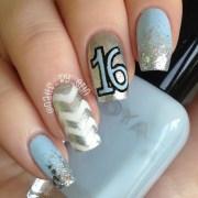 sweet 16 nails nail art erin