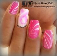 Pink Ribbon Nails Breast Cancer Awareness mani nail art by ...