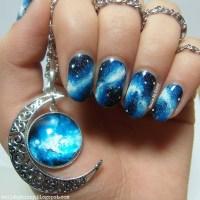 Galaxy Nails! nail art by Kizzy - Nailpolis: Museum of ...