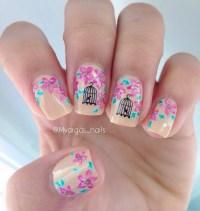 Vintage nail art nail art by Massiel Pena - Nailpolis ...