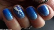 april shower nail art