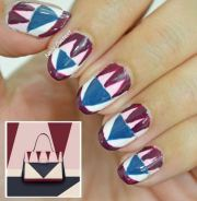 valentino inspired nails nail art